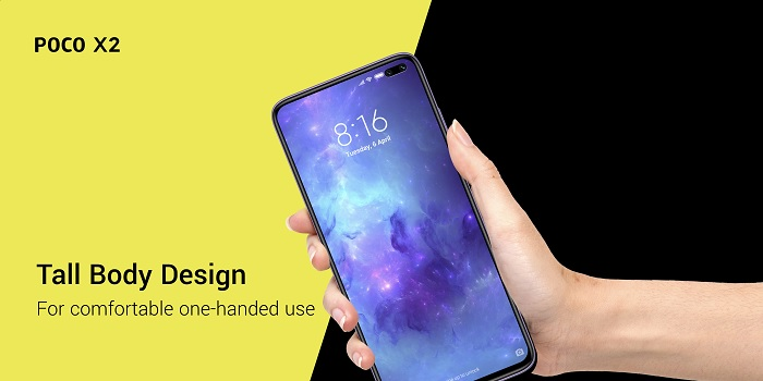 Xiaomi 120Hz Display in Poco X2 starting from just $225.........