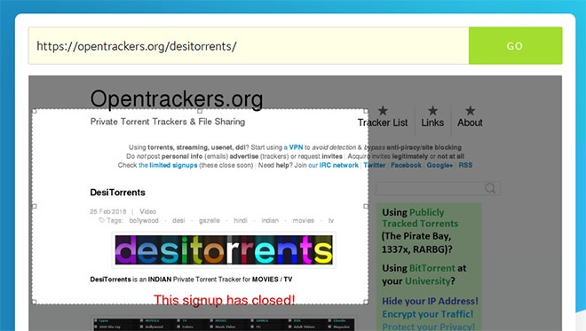 How to Download Hindi Movies from DesiTorrents: First setup tracker for Signup with DesiTorrent