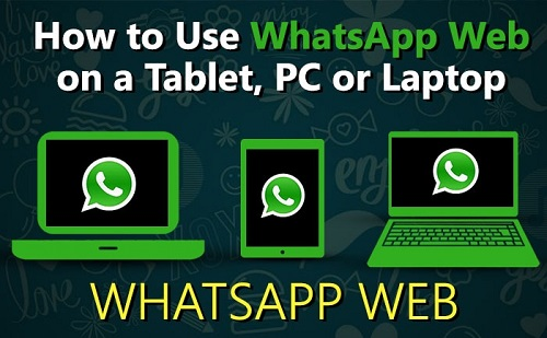 How to use WhatsApp on pc,desktop or tablet