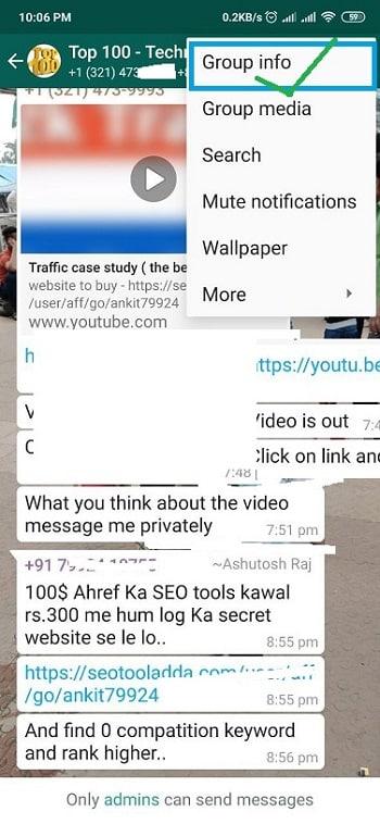 Delete a WhatsApp Group Permanently: methods