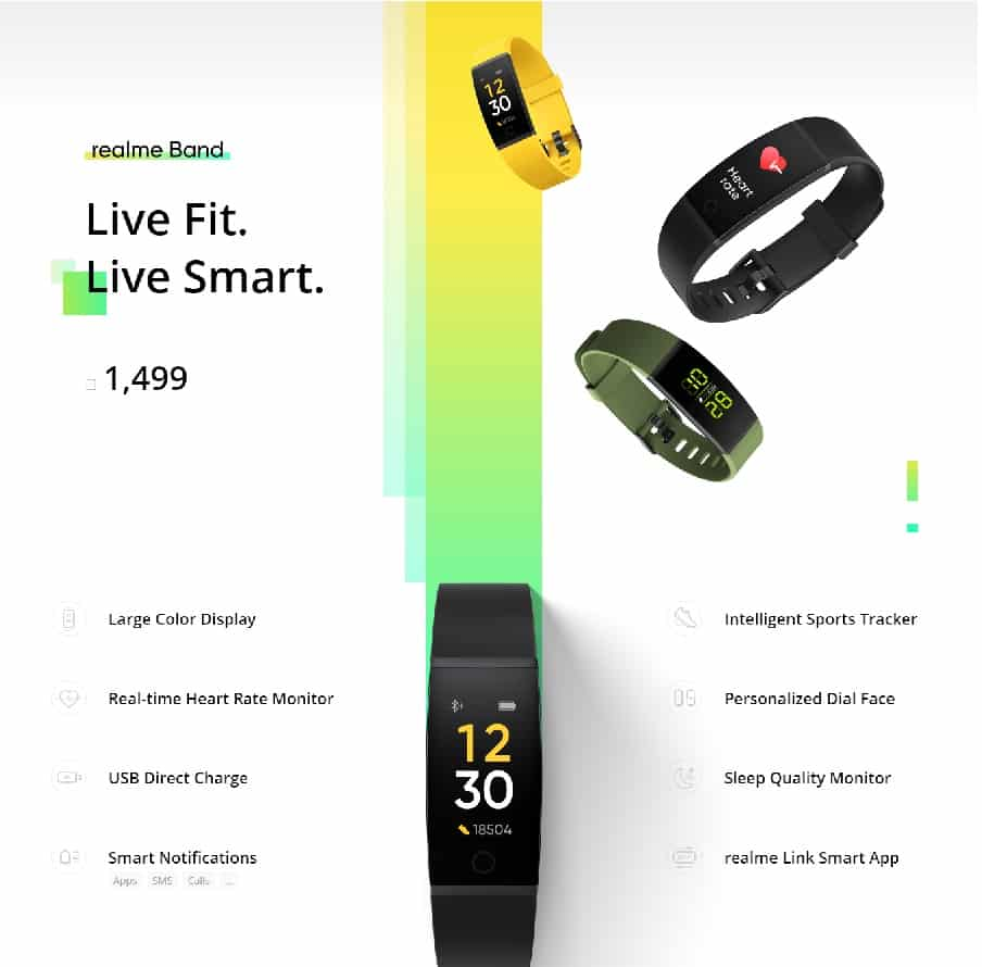 Realme Smart Band launched in India: Features & Price