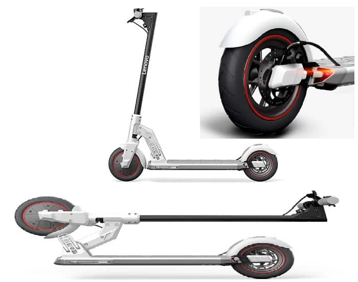 M2 Electric Scooter Launched by Lenovo at $282 (1999 Yuan) 2020