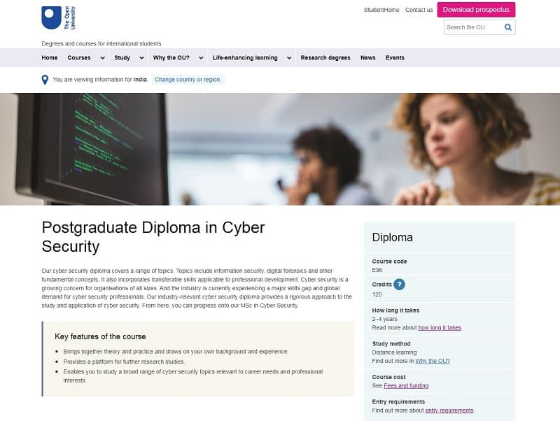 Best cybersecurity courses online for free: The Open University Cyber SEcrutiy