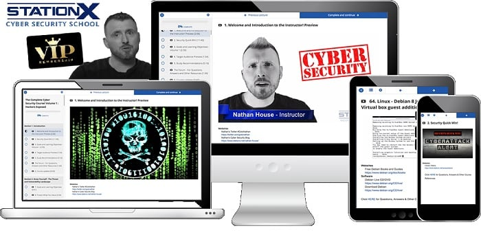 Best cybersecurity courses online for free: StationX Cyber Security School
