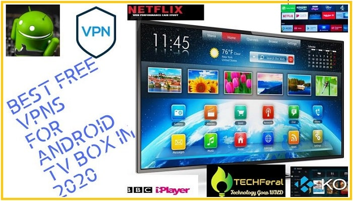 Top 7 Best Free VPNs for Android TV Box in 2020