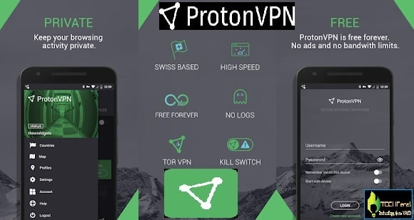Top 10 Best Unlimited Free VPNs Apps for Android Phone in 2020: Proton FREE VPN