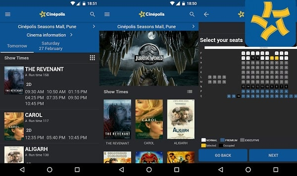 Top 7 Best Apps for Booking Movie Tickets Online: Cinepolis App