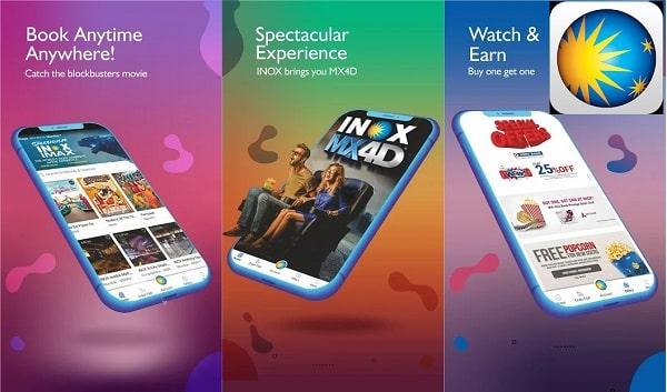 Top 7 Best Apps for Booking Movie Tickets Online: INOX App