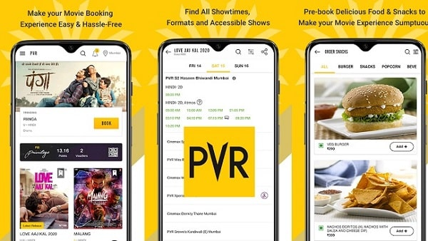 Top 7 Best Apps for Booking Movie Tickets Online: PVR App