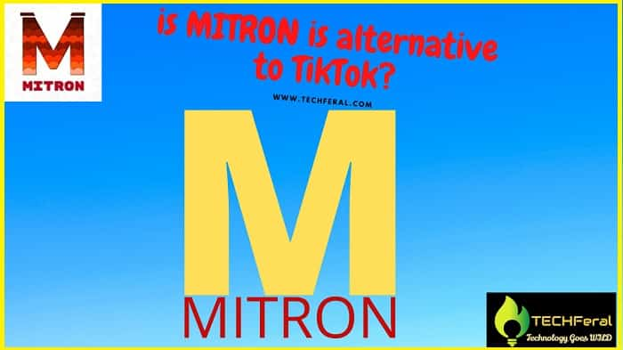 Is Mitron App is really a alternative of TikTok?
