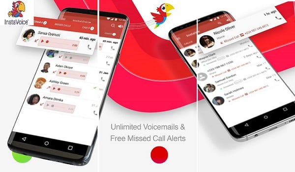 7 Best Visual Voicemail Apps for Android & iOS: InstaVoice: Visual Voicemail & Missed Call Alerts