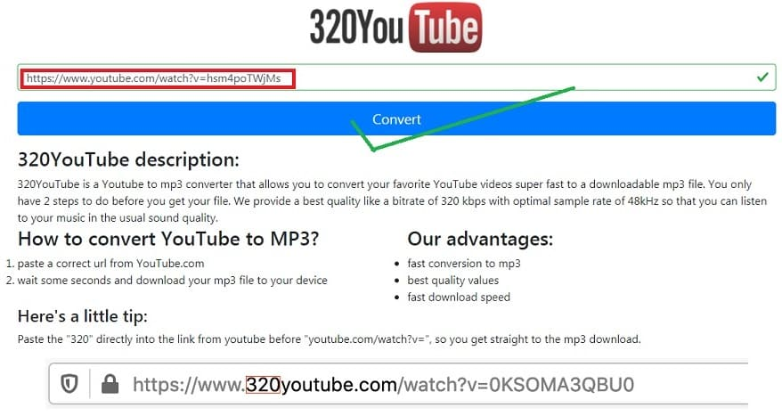 Best YouTube to MP3 online converter for free: 320YouTube