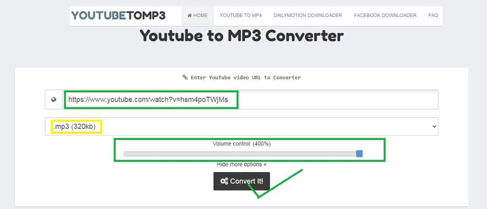 Best YouTube to MP3 online converter for free: YouTubeToMP3