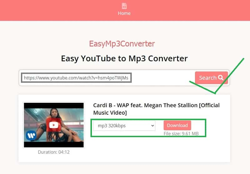 Top 7 Best YouTube To MP3 Converter Online easymp3converter
