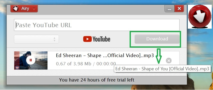 Airy YouTube Downloader: Best YouTube to MP3 online converter for free