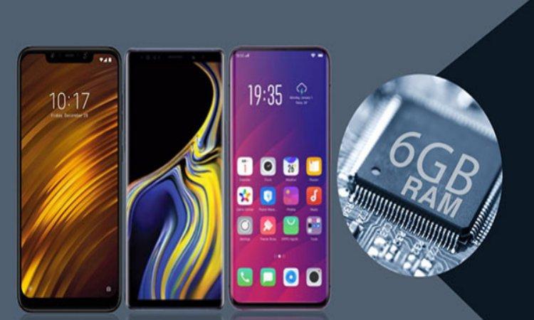 7 Best 6 GB RAM Smartphones under Rs. 10,000 in India