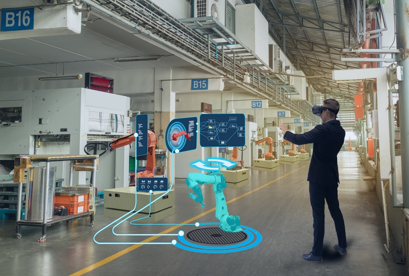 Engineer use augmented mixed virtual reality to education and training, repairs and maintenance, sales, product and site design, and more